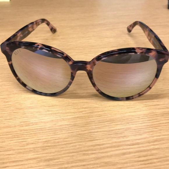 c6eee02c4f64f Diff Eyewear Accessories - Diff Eyewear Cosmo Himalayan Tortoise Sunglasses